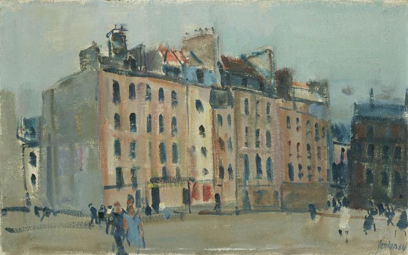 Place de Beaubourg, 1964