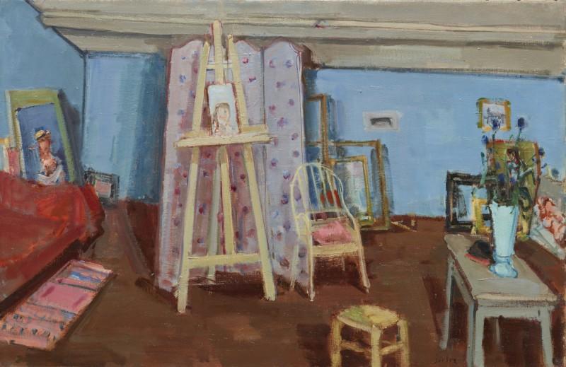 Das Atelier in MItheuil, 1937/38