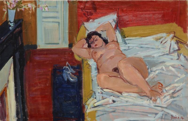 Nu couché, 1957