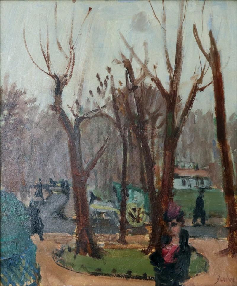 Aux Champs-Elysées, 1937