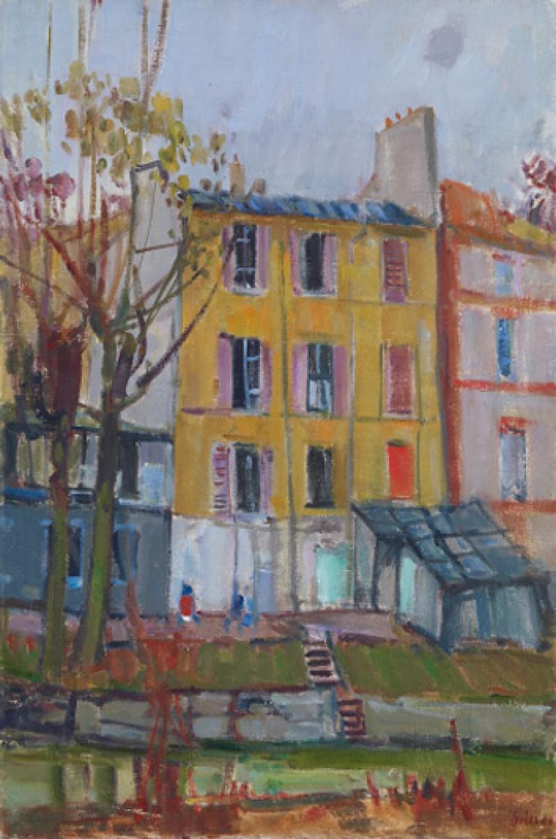 La maison jaune, 1961 (Marne Kanal)