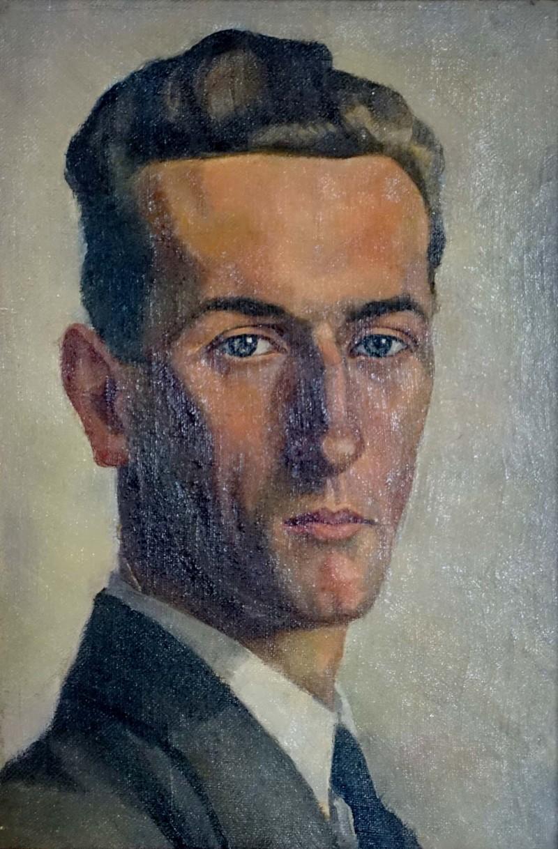 Porträt Gottfried Müller, ca. 1927 - 30
