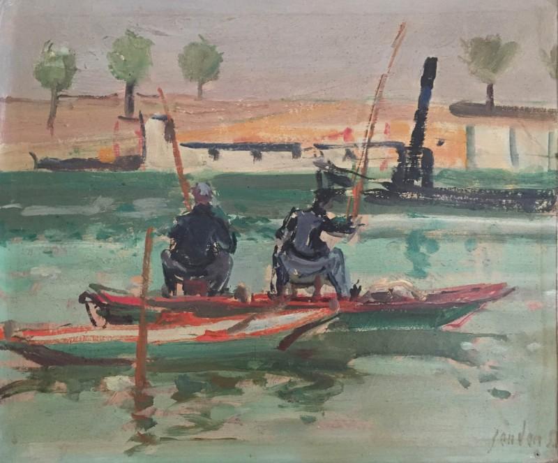 Fischer, wohl 1957