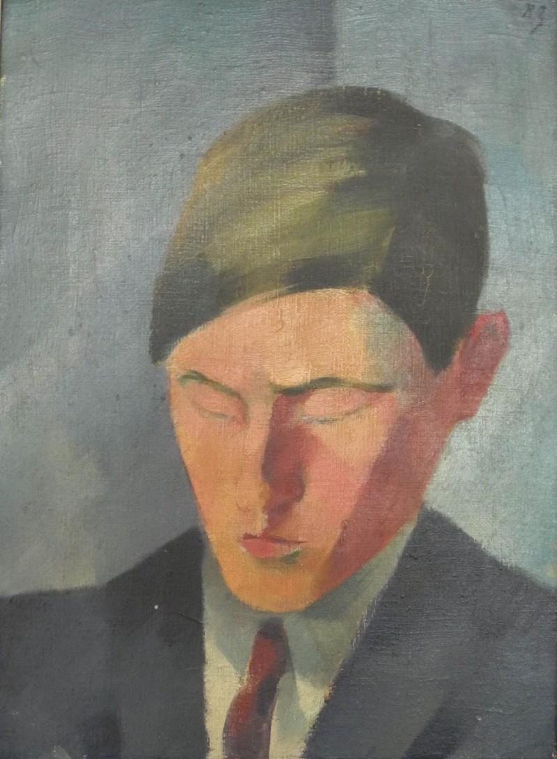 Porträt von Hans Heinrich Staub (1908 - 1980), 1925