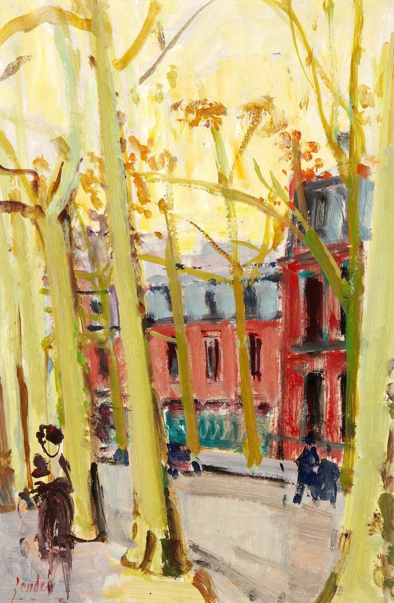 Ruelle - Paris, verso Kirchhügel