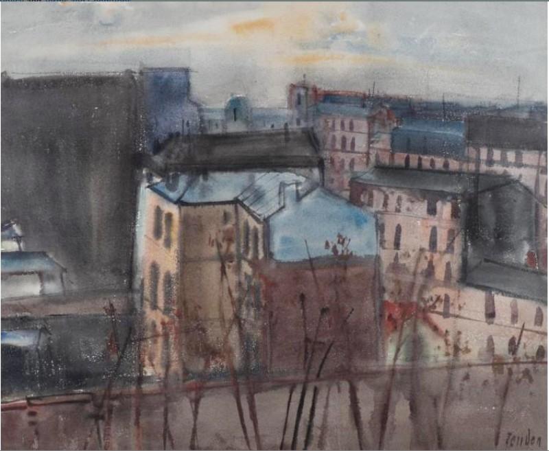 Vue de Paris, ca. 1970