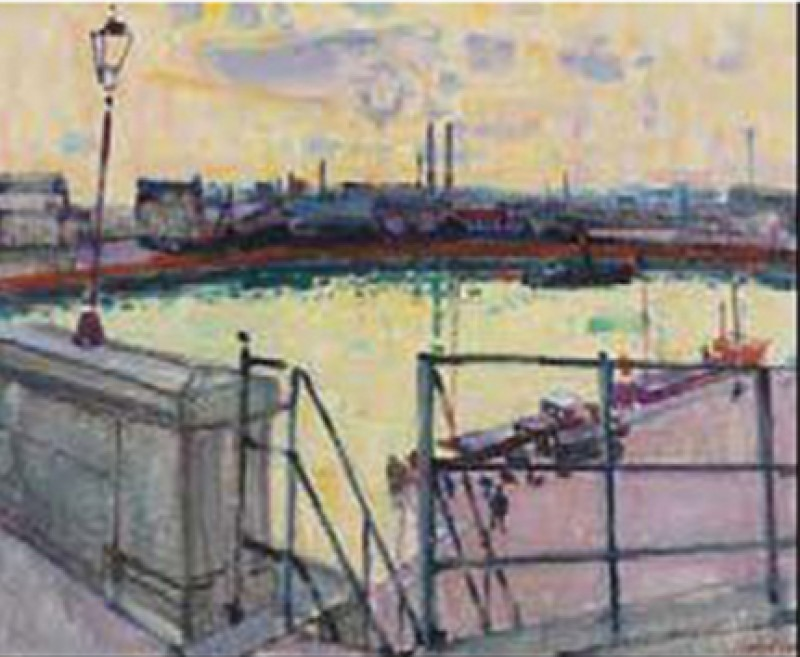 Der Hafen von Orly, 1955.