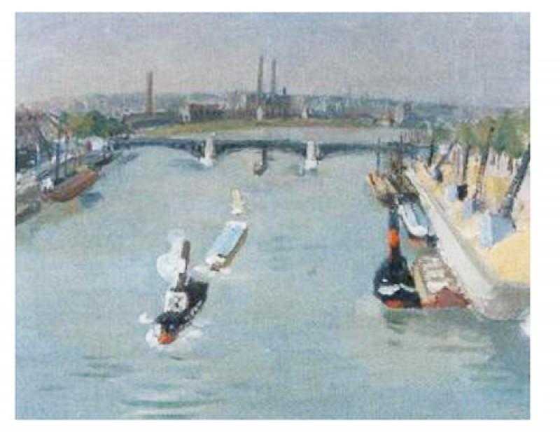 An der Seine, 1955