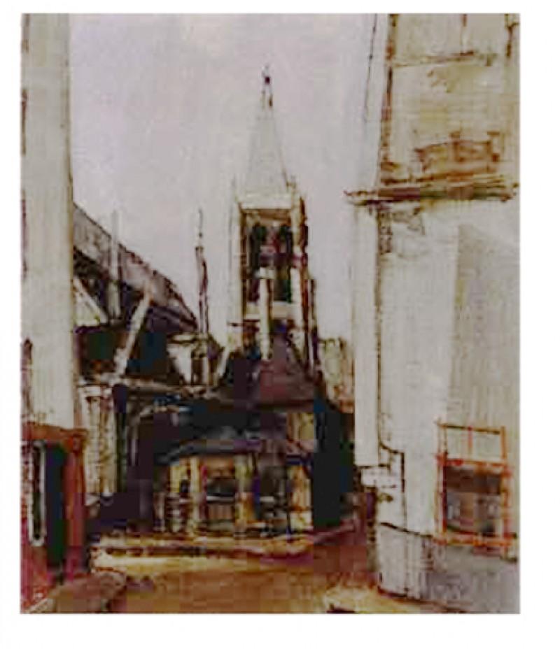 Paris, Saint Séverin, 1947