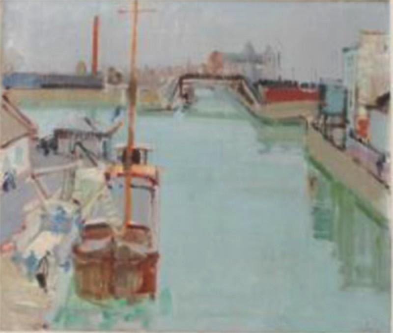 Seinehafen bei Paris, 1953