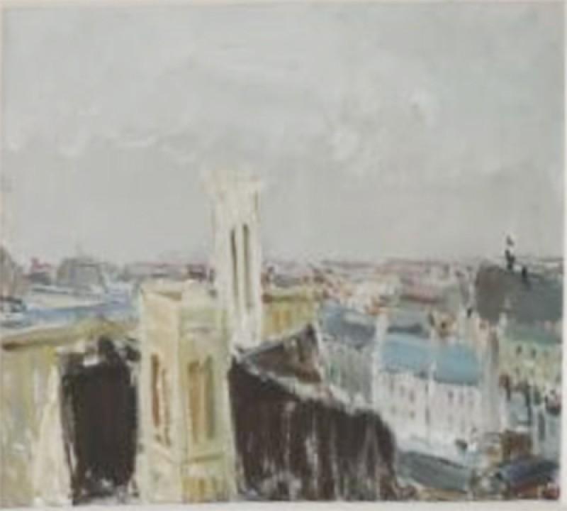 Blick über die Dächer von Paris.