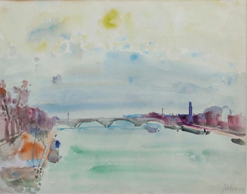 Pont de Dolbiac, 1964.