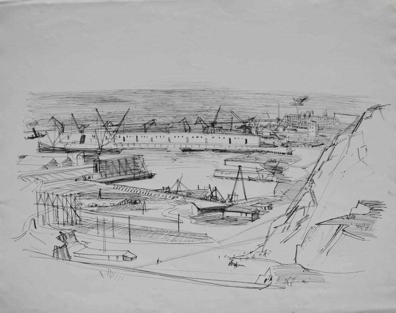 Am Frachthafen